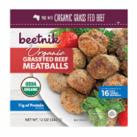 Beetnik Organic Grass Fed Beef Meatballs