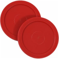 Sunnydaze Large 2.5-Inch Replacement Air Hockey Game Table Pucks - 2-Pack
