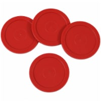 Sunnydaze Large 2.5-Inch Replacement Air Hockey Game Table Pucks - 4-Pack