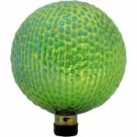 """Sunnydaze Green Textured Surface Glass Outdoor Garden Gazing Globe Ball - 10"""" - 1 Gazing Ball"""