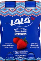LaLa Wild Strawberry Flavored Probiotic Yogurt Smoothies