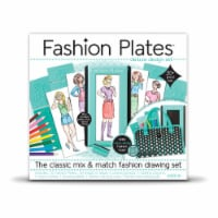 Fashion Plates Classic Styles Mix & Match Fashion Drawing Set