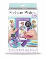 Fashion Plates Travel Drawing Set