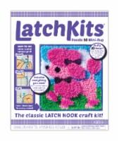 LatchKits Poodle Mini-Rug Latch Hook Craft Kit
