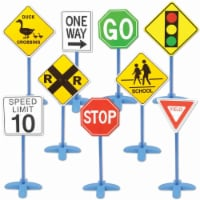 EDX Education On the Go Traffic Signs  - Set of 9