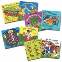 Kaplan Early Learning Rhythm and Rhyme Board Books - Set of 8 - 1