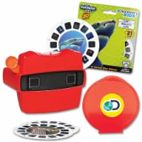 Schylling View-Master & Discovery Kids Reels With Bonus Marine Life Set - 1