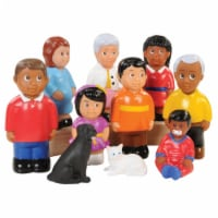 Kaplan Early Learning Friends and Family 5  High Pretend Play - Set of 10 - 1