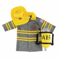 Kaplan Early Learning Firefighter Career Dramatic Play Dress Up Costume