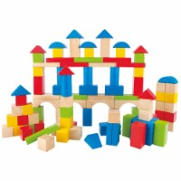 HAPE Natural and Color Maple Blocks - Set of 100 - 1