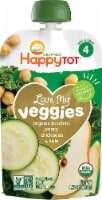 Happy Baby HappyTot Love My Veggies Organic Zucchini Pears Chickpeas & Kale Stage 4 Toddler Food
