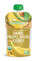 Happy Baby Bananas Pineapple Avocado & Granola Baby Food