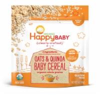 Happy Baby Organics Gluten Free Oats & Quinoa Baby Cereal