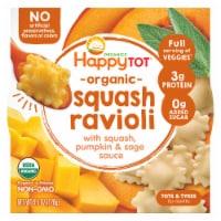 Happy Tot Organic Squash Pumpkin & Sage Ravioli Bowl