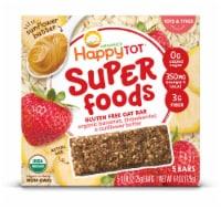 Happy Tot Bananas Strawberries & Sunflower Butter Organic Gluten Free Stage 4 Baby Food