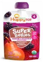 Happy Tot Organics Super Bellies Pears Beets & Blackberries Stage 4 Baby Food Pouch