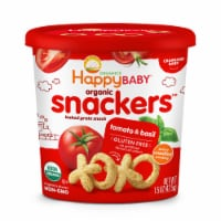 Happy Baby® Snackers™ Organic Tomato and Basil Baked Grain Snack - 1.5 oz