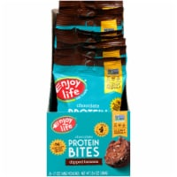 Enjoy Life  Chocolate Protein Bites™ Gluten Free Allergy Friendly   Dipped Banana