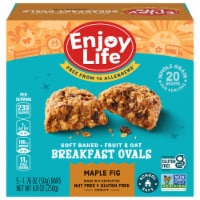 Enjoy Life Maple Fig Breakfast Ovals 5 Count
