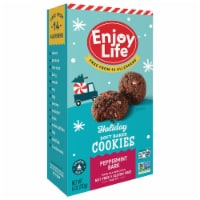 Enjoy Life Soft Baked Peppermint Bark Cookies
