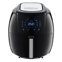 GoWISE USA 5.8-QT 8-in-1 Digital Air Fryer, Black