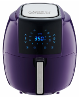 GoWISE USA 5.8-QT 8-in-1 Digital Air Fryer, Plum