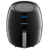 GoWISE USA 5.8-QT 8-in-1 Digital Air Fryer, Black