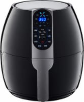 GoWISE USA 5-Quart Air Fryer with 8 Cook Presets, Black
