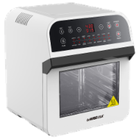 GoWISE USA Deluxe 12.7-Quarts 15-in-1 Electric Air Fryer Oven, White