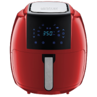 GoWISE USA 8-in-1 Digital Air Fryer, 7.0-Qt, Red