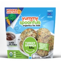 Yummy Spoonfuls Organic Turkey Spinach Bites