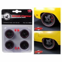 GMP 18890 1 isto 18 5-Spoke Wheel & Tire from 1970 Plymouth Road Runner Street Fighter Attack - 6