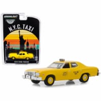 1975 Ford Torino Yellow \NYC Taxi\ (New York City Taxi) \ Hobby Exclusive\  Diecast Model Car - 1