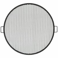 """Sunnydaze Cooking Grate X Marks Outdoor Fire Pit Grill Accessory - 36"""" Diameter - 1 Cooking Grill"""
