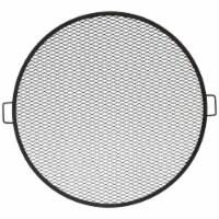"""Sunnydaze Cooking Grate X Marks Outdoor Fire Pit Grill Accessory - 40"""" Diameter - 1 Cooking Grill"""