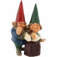 """Sunnydaze Arnold and Sarah Gnome Statue - Outdoor Lawn and Garden Decor - 8"""" - 1 garden gnome"""