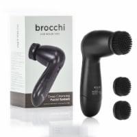 Deep Cleansing Facial Brush System for Men - 1