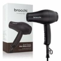 Brocchi Travel-Sized Dual Voltage Hair Dryer
