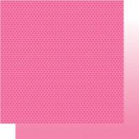 Bella Besties Hearts/Ombre Double-Sided Cardstock 12 X12 -Peep - 1