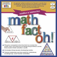Learning Advantage 1540205 Math-Fact-Oh Addition & Subtraction Game