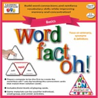 Learning Advantage CTU2190 Word Fact Oh Basic Game