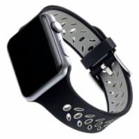 WITHit Apple Watch Sport Band - Black/Gray