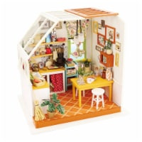 Hands Craft DIY 3D Wooden Puzzles - Miniature House: Jason's Kitchen - 1