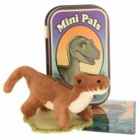Giftable World T12-RAPPER Mini Pals Velociraptor Tin