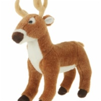 Giftable World A08052 10.5 in. Plush Deer Standing