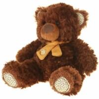 Giftable World A01001 13 in. Plush Bear - Brown