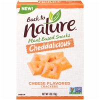 Back to Nature Cheddalicious Cheese Flavored Crackers