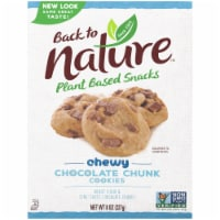 Back to Nature Chewy Chocolate Chunk Cookies