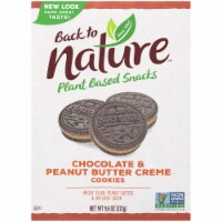 Back to Nature Peanut Butter and Chocolate Cream Cookies