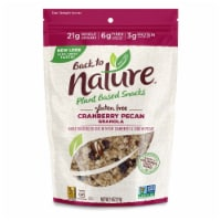 Back to Nature Gluten-Free Cranberry Pecan Granola